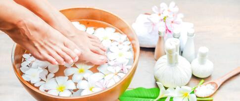 Klassische Massage - Fußreflexzonenmassage (25 Min.)