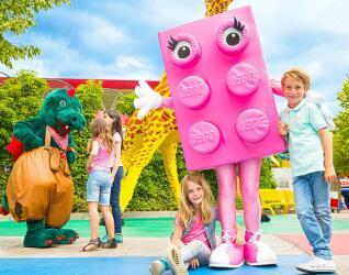 Legoland Deutschland Resort Maskottchen