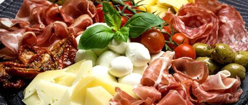 Italienische Antipasti für 2 Personen
