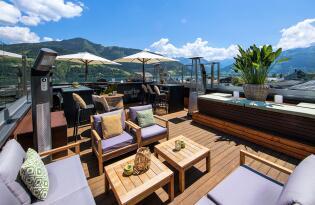 Modern-luxuriöses Ambiente bei Ihrem Urlaub in Zell am See in Österreich