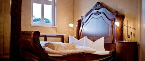 Luxus-Suite im Schloss