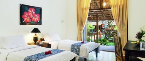 Standardunterkünfte Java und Bali