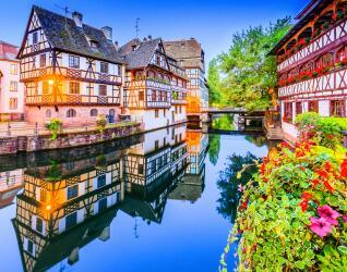 Frankreich Rundreise Straßburg