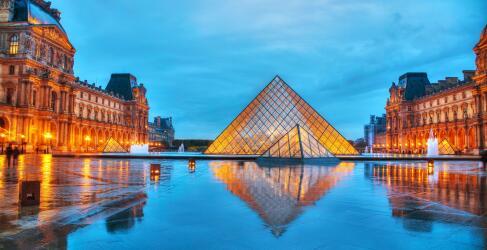 Frankreich Rundreise Louvre