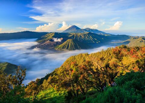 15 Tage Java Rundreise mit Bali