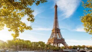 Eiffelturm Frankreich Rundreise