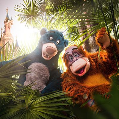 DisneylandParis im Dschungelfieber