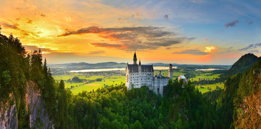 Schloss Neuschwanstein und Hohenschwangau 53224
