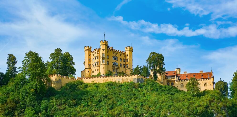 Schloss Neuschwanstein und Hohenschwangau 53276