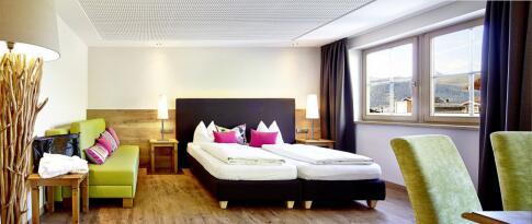 Deluxe Doppelzimmer (mit Zusatzbett möglich)