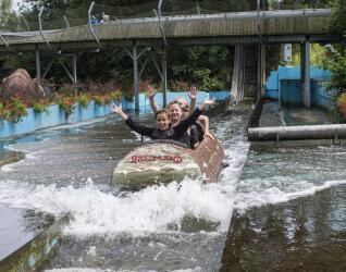 Wildwasserbahn im Rasti-Land