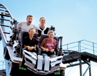 Legoland Billund Achterbahn