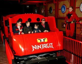 LEGOLAND Billund Achterbahn Ninjago