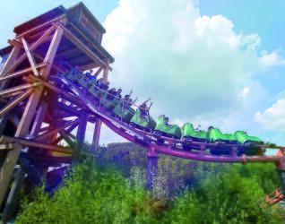 Fort Fun Abenteuerland Achterbahn