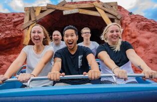 Plezier voor het hele gezin in Duitslands grootste film- en pretpark