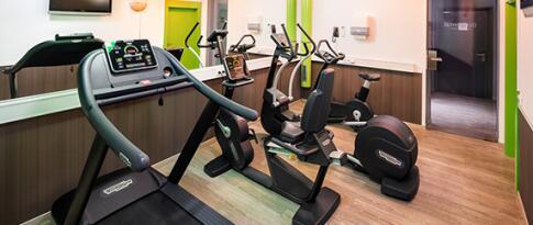 Freie Nutzung des Fitnessbereichs