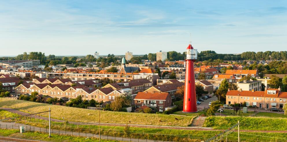 Der Küstenort Hoek van Holland ist nur 20 Autominuten entfernt