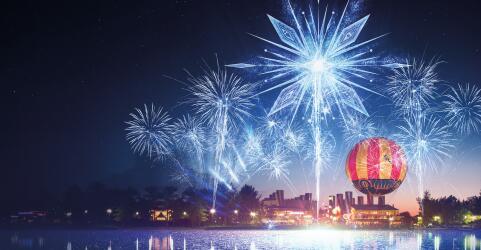 Magic Over Disneyland® Paris 14., 17. und 19. Januar 2022