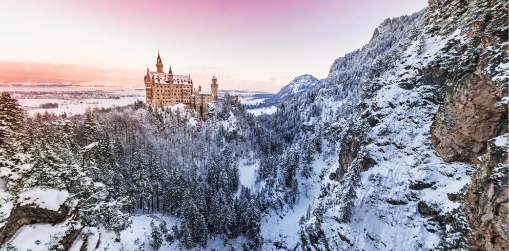 Schloss Neuschwanstein und Hohenschwangau 57837