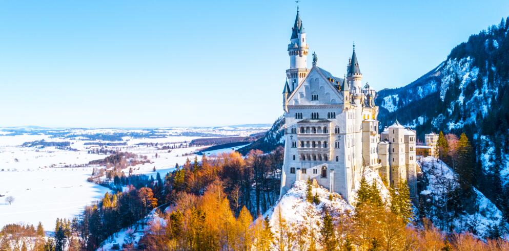 Schloss Neuschwanstein und Hohenschwangau 57838