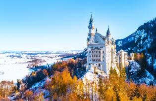 Märchenschloss Neuschwanstein und Schloss Hohenschwangau