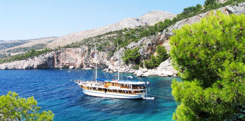 Blaue Reise Kroatien ab/nach Trogir 57982