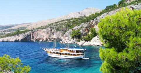 Blaue Reise Kroatien ab/nach Trogir