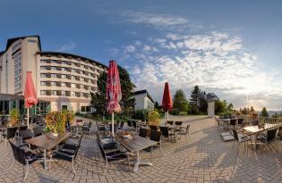 Aktiv- und Wellnessurlaub mit 360º Rundumblick auf den Thüringer Wald