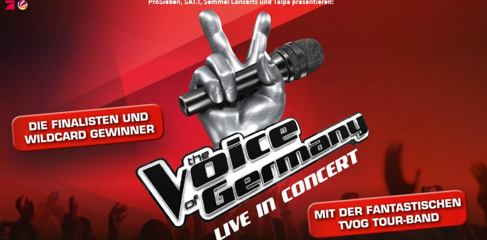The Voice of Germany in Concert 58552