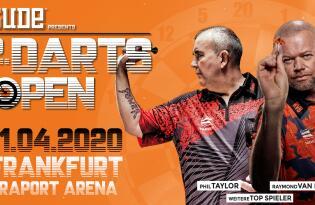 Erleben Sie pfeilschnelle Darts-Duelle am 11. April in der Fraport Arena