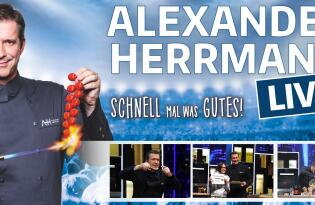 Erleben Sie den Zwei-Sterne-Koch hautnah im Berliner Admiralspalast!