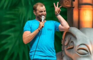 Der King of Comedy im Februar 2020 in der Barclaycard Arena