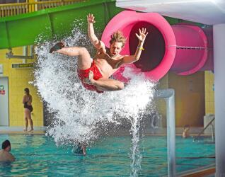 AquaMagis Plettenberg Pink Jump