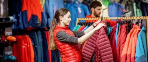 10% Ermäßigung auf Textilien bei Sport Hauber