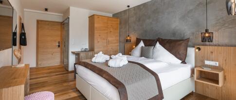 Doppelzimmer Alpin oder Panorama