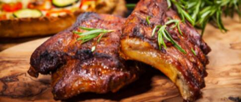 Spareribs – all you can eat (nur Sonntagabend)