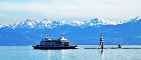 Ticket für Schifffahrt auf dem Bodensee