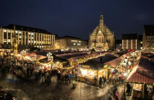 Nürnberger Christkindlesmarkt inkl. Weihnachtspass und Premium Hotel