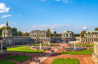 Cityreise Dresden mit Residenz Konzert im Zwinger