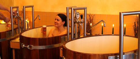 Biertrub Wellnessbad (50 Minuten - 2 Personen)
