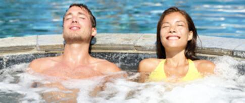 Freie Nutzung des Saunabereiches und des Outdoor Infinity Pools