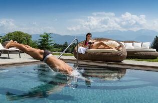 Luxuriöser Wellnesstraum mit atemberaubendem Dolomiten-Panorama