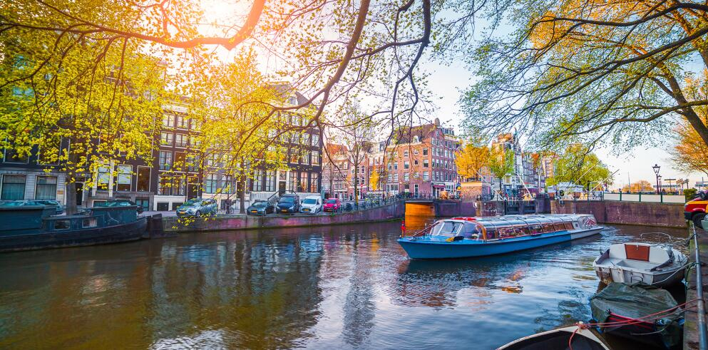 Kurztrip nach Amsterdam mit Grachtenfahrt 63218