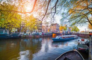 Amsterdam Städtetrip inkl. Grachtenfahrt und Premium Hotel