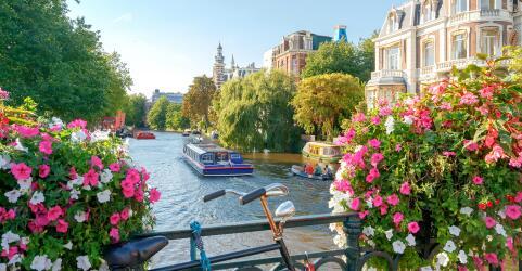 Kurztrip nach Amsterdam mit Grachtenfahrt