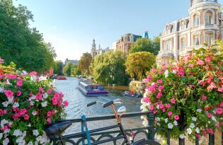 Amsterdam Kurztrip inkl. Grachtenfahrt und Premium Hotel