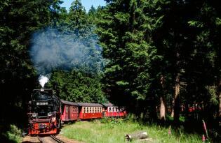 Nostalgische Fahrt auf den Gipfel des Brockens