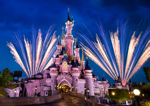 Disney's Magical Fireworks & Bonfire 2., 4. und 9. November 2021