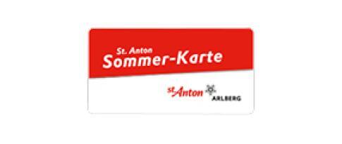 St. Anton am Arlberg Sommerkarte
