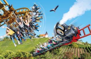 Erlebnispark Tripsdrill & Wildparadies inkl. Premium Hotel